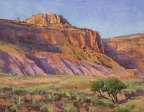 """Desert Patterns"" 11x14. Pastel."