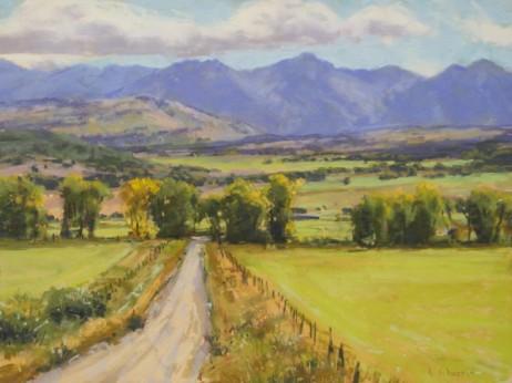 """San Juan Ranch"" 12x16. Pastel."