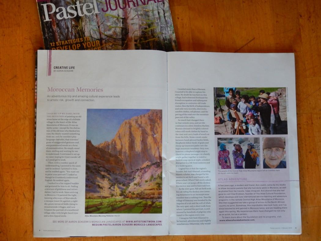 """Morocco Memories"" Pastel Journal"