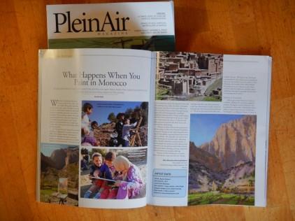 Plein Air Magazine Article