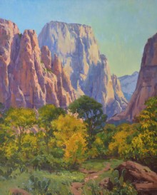 """Zion Transition"" 30x24, Oil."